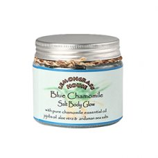 Blue Chamomile Salt Body Glow Scrub