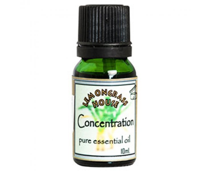 Concentration Blended Essential Oil