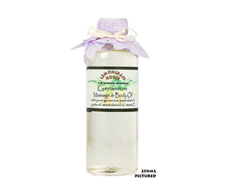 Geranium Massage & Body Oil