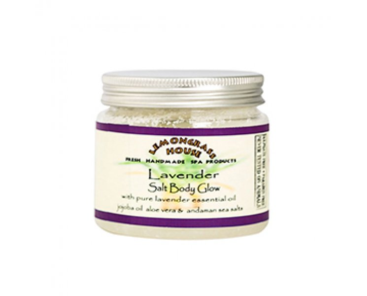 Lavender Salt Body Glow Scrub