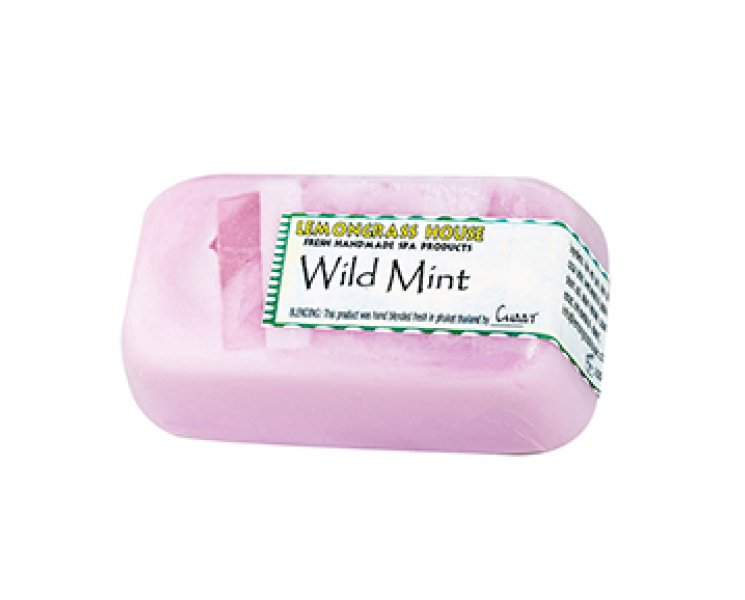 Wild Mint Handmade Soap Bar