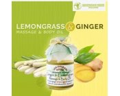 Lemongrass & Ginger Massage & Body Oil