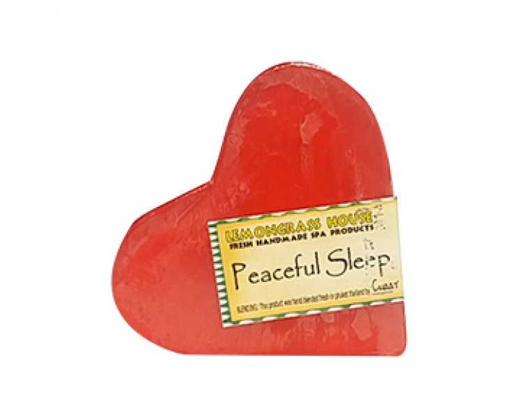 Peaceful Sleep Heart Shaped Handmade Soap