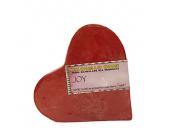 Joy Heart Shaped Handmade Soap
